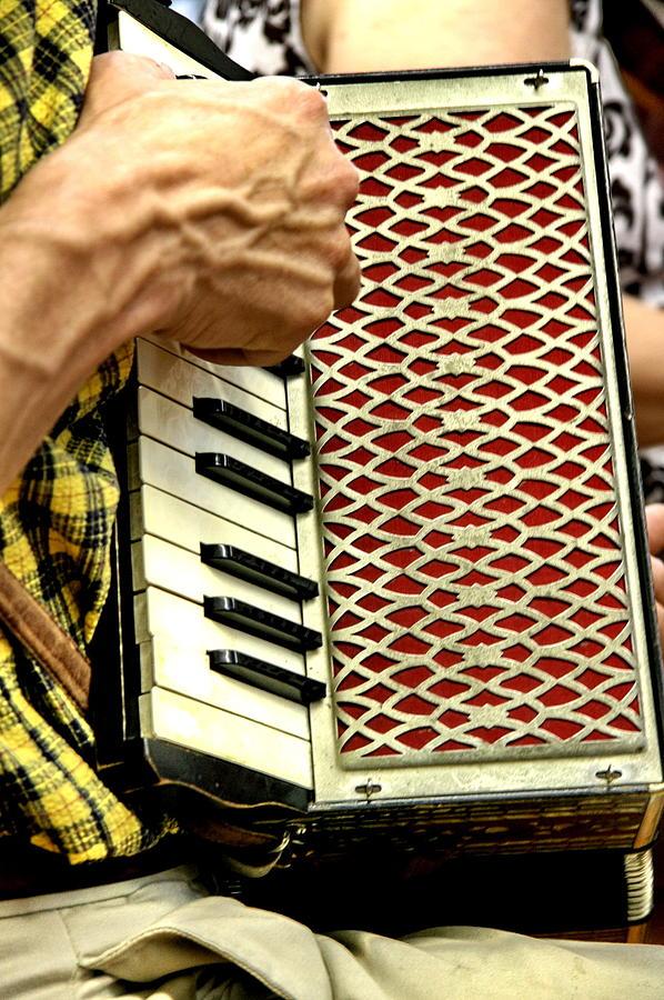 Music Photograph - Squeeze Box by Alan Skonieczny