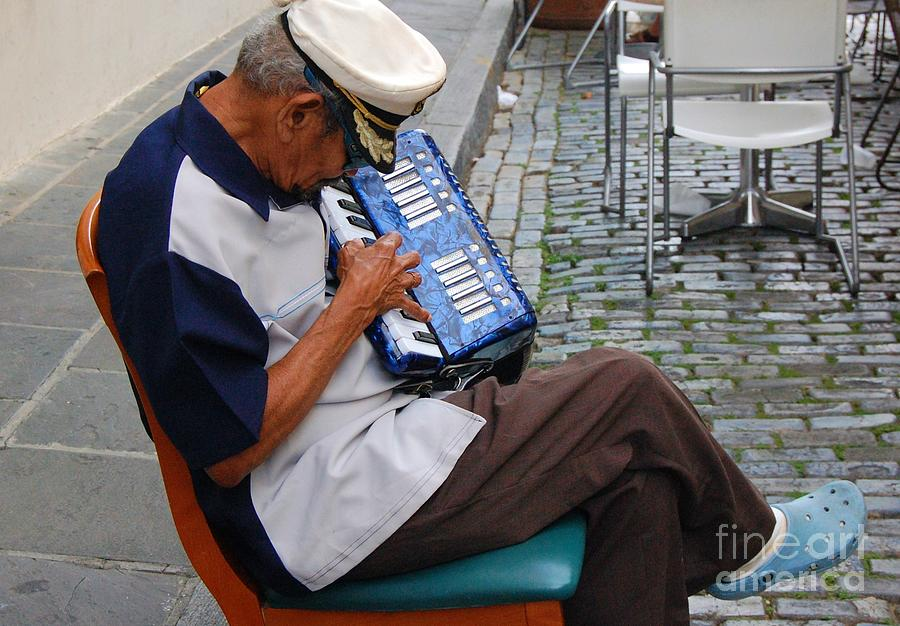 People Photograph - Squeeze Box by Debbi Granruth