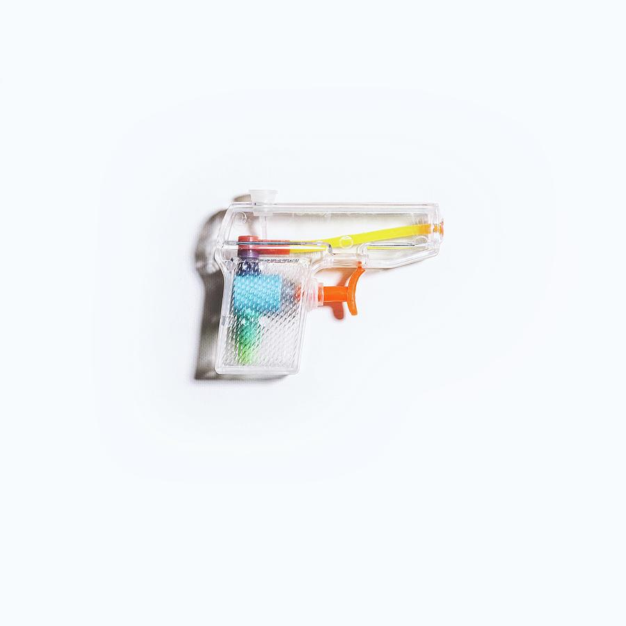 Still Life Photograph - Squirt Gun by Scott Norris