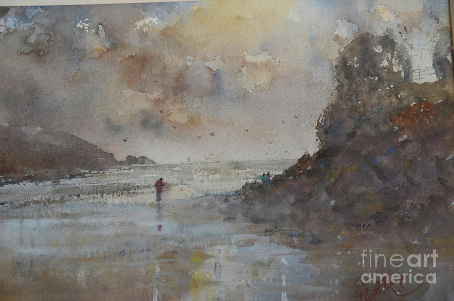 Sradbally Cove in Winter by Keith Thompson