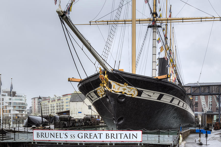 Ss Great Britain Photograph - SS Great Britain - Bristol by Joana Kruse