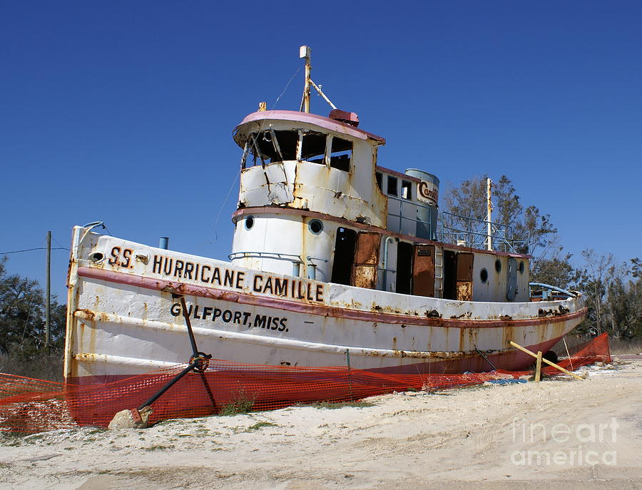 Ship Photograph - S.s. Hurricane Camille by Debbie May