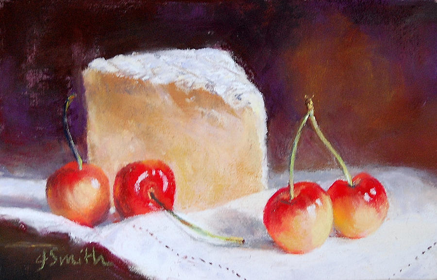 Cheese Pastel - St Andre And Friends by Jeanne Rosier Smith
