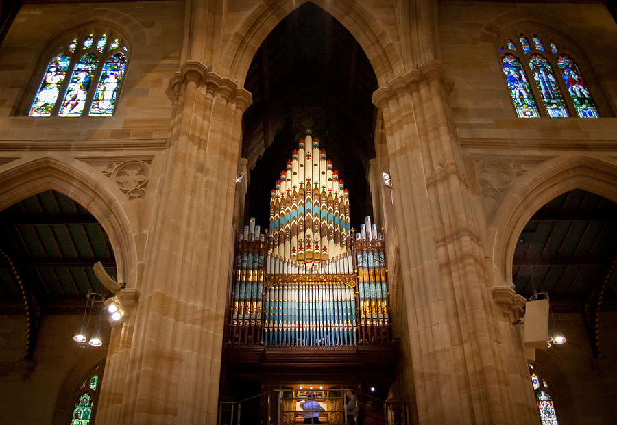 St Andrew's Cathedral Sydney by Jenny Setchell