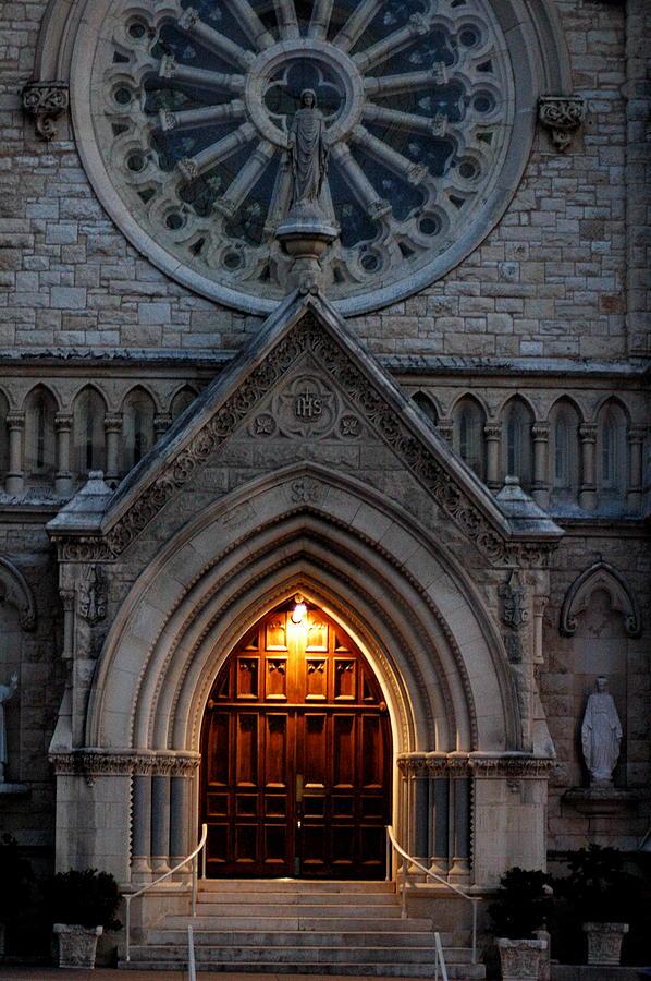 Church Photograph - St Annes Church by Teresa Blanton