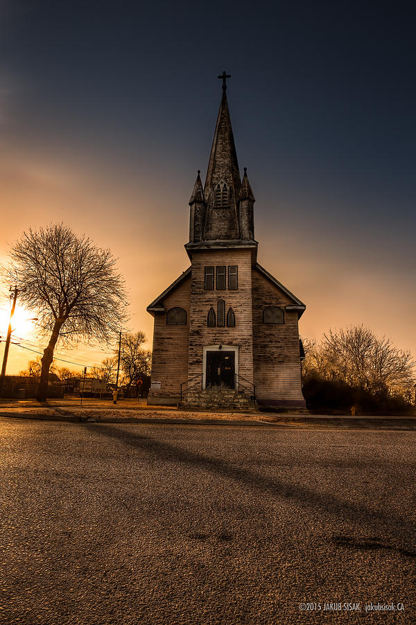 Abandoned Photograph - St. Ansgarius Anglican And Our Saviours Lutheran Church by Jakub Sisak