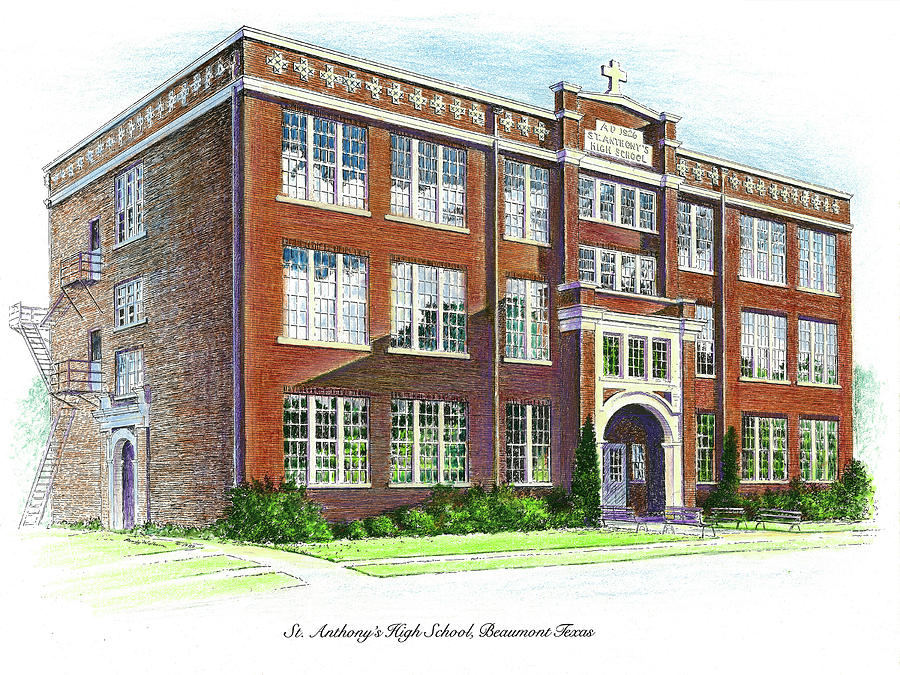 St. Anthony's High School by Randy Welborn