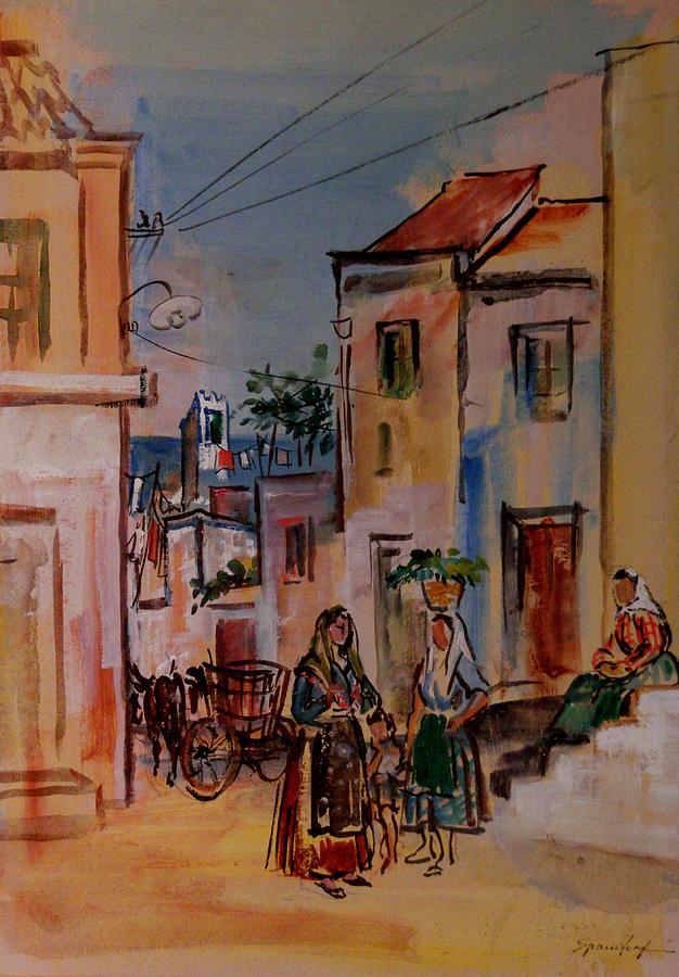 St. Antiocho, Sardinia Painting