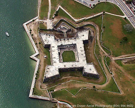 St. Augustine Fort Photograph - St. Augustine Fort by John Dwyer