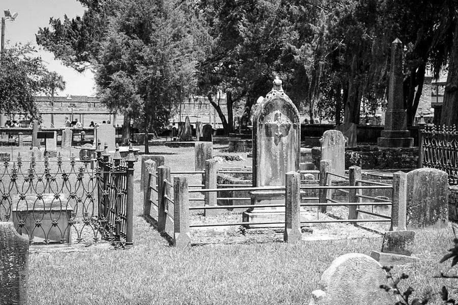 St. Augustine Graveyard Photograph