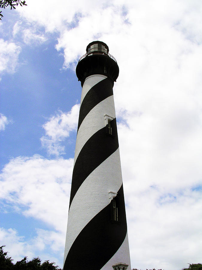 St. Augustine Light Photograph by Allan  Hughes