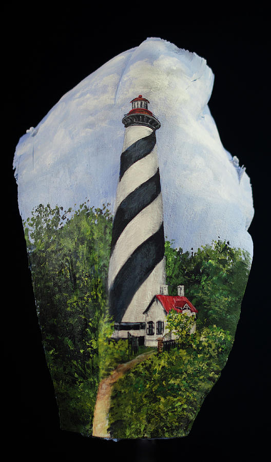 St. Augustine Light House by Nancy Lauby
