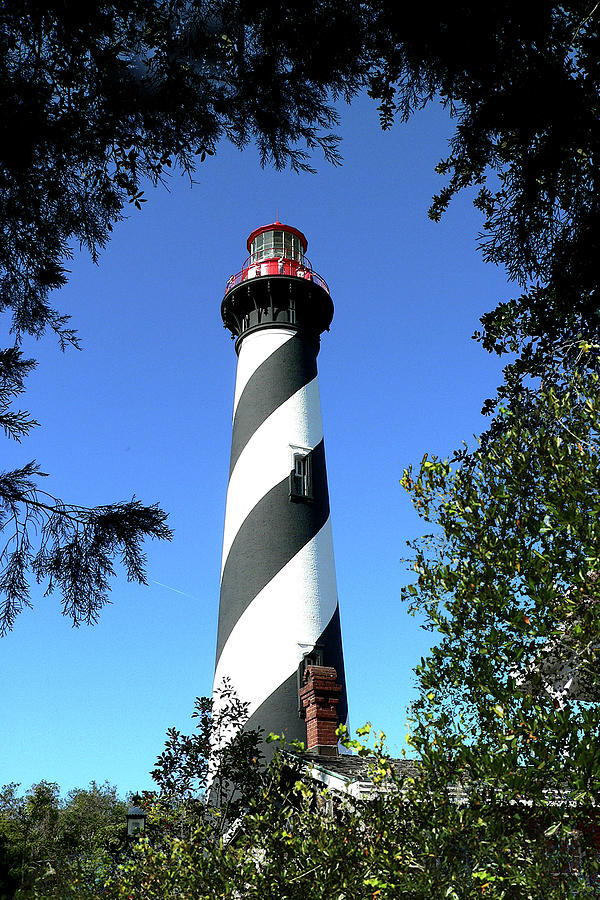 St. Augustine Light tower by Gordon Engebretson