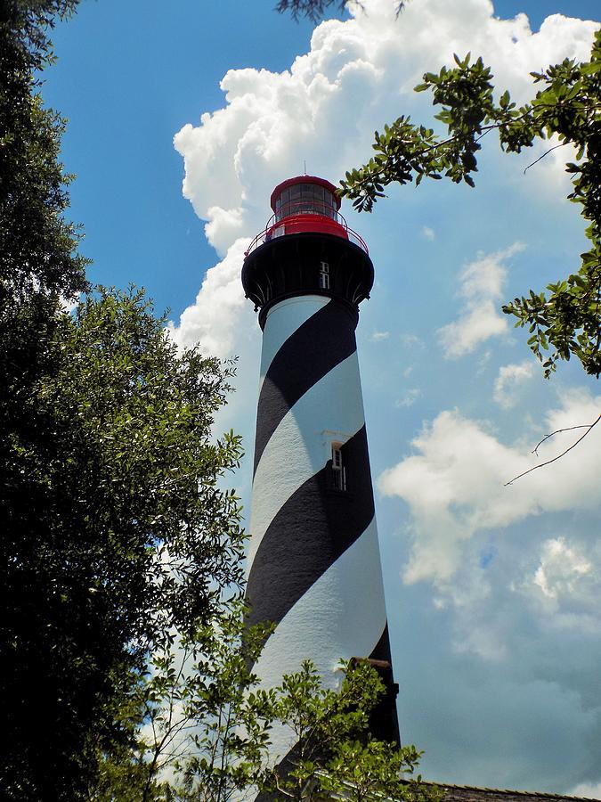 Lighthouse Photograph - St. Augustine Lighthouse by Sarah Barba