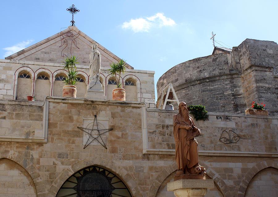 Bethlehem Photograph - St Catherine Church by Munir Alawi