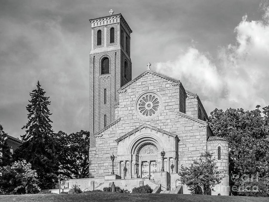 Catholic University Photograph - St. Catherine University Our Lady Of Victory Chapel by University Icons