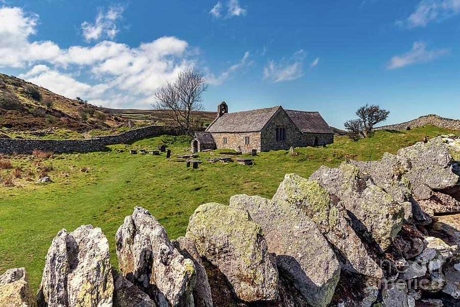 British Photograph - St Celynnin Church, Llangelynnin by Adrian Evans