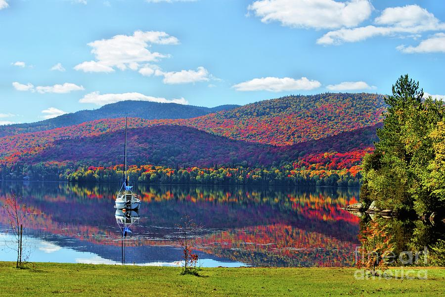 St Donat Reflection by Aimelle