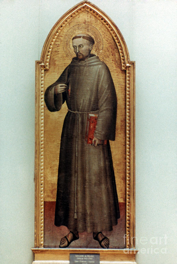 1360 Painting - St. Francis Of Assisi by Granger