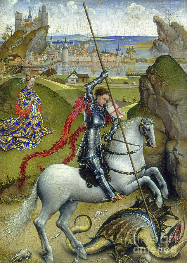 st george and the dragon facts