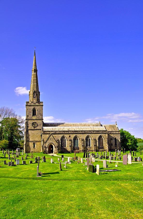 St Georges Church, Ticknall Photograph