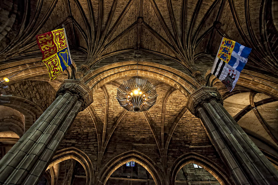 St. Giles Cathedral Photograph by Jim Dohms
