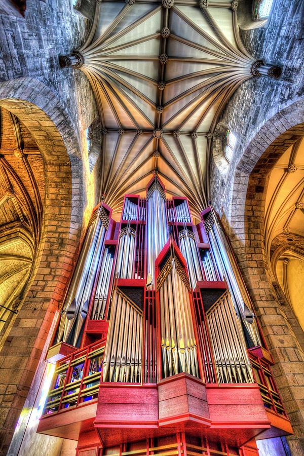 St Giles Edinburgh Cathedral Organ Photograph