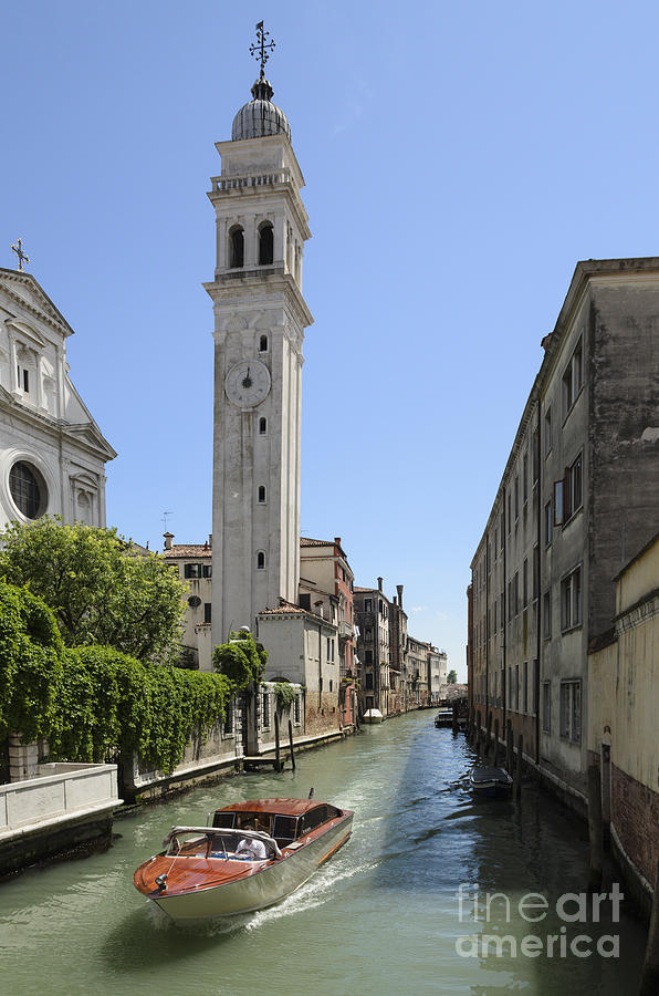 Venice Photograph - St Giorgio Canal by Michael  Winters