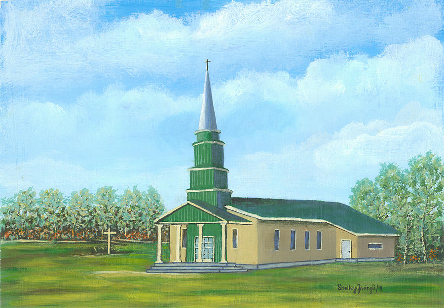 St. Helens Painting - St. Helens - Sacred Ground by Shelley Zwingli