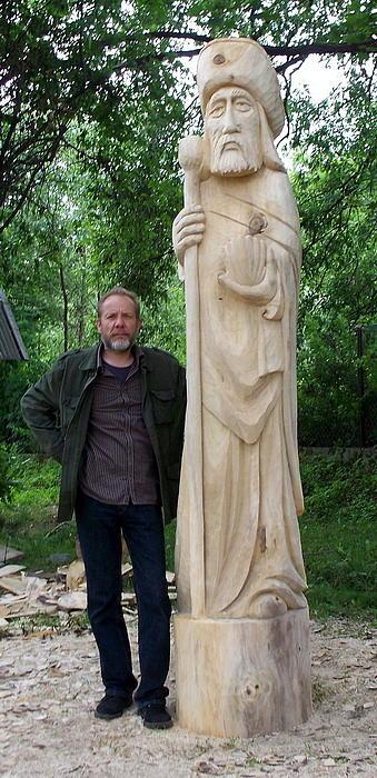 St. Jacob  Sculpture by Mieczyslaw Wojtkowski
