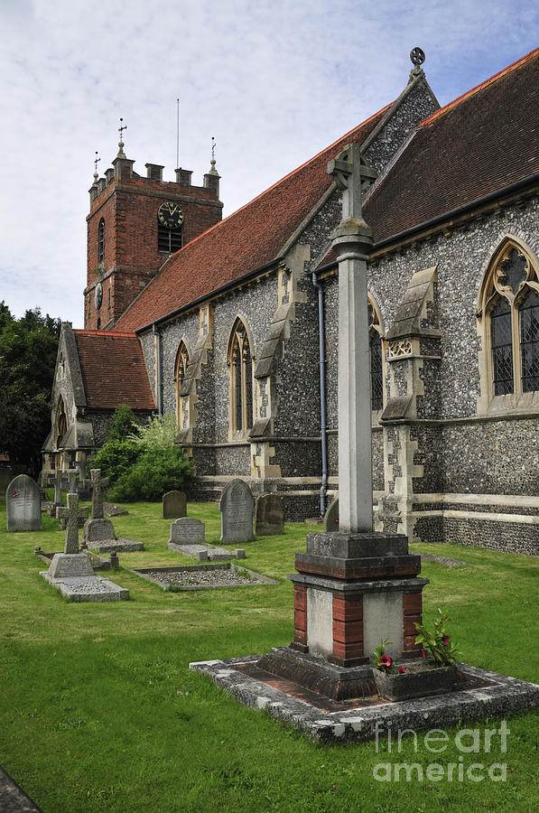 Church Photograph - St James The Less Church by Andy Smy