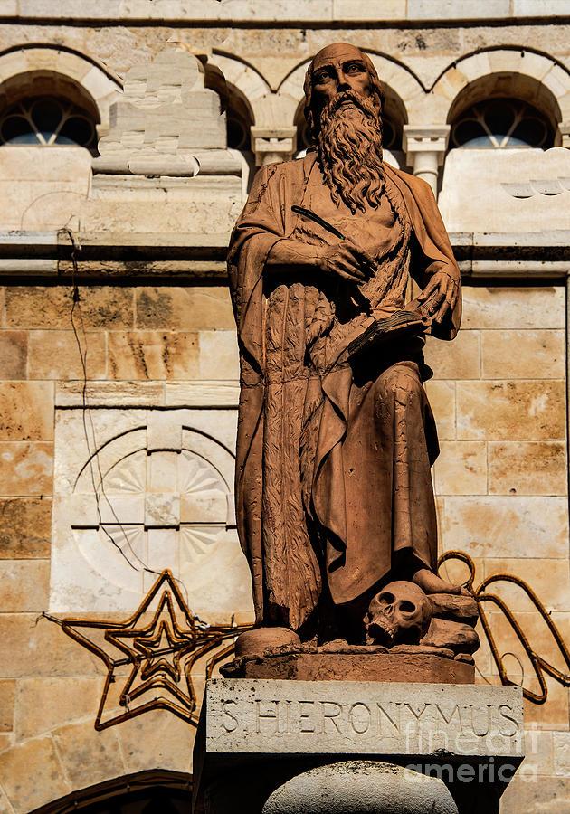 St. Jerome Photograph - St. Jerome by Mae Wertz