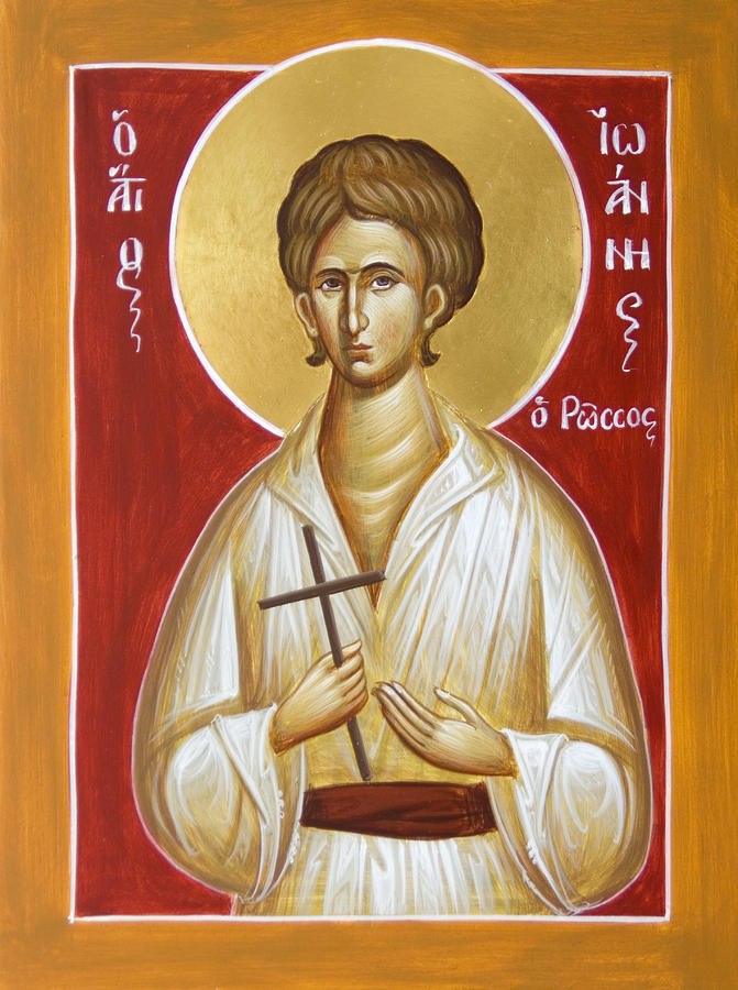 St John The Russian Painting - St John The Russian by Julia Bridget Hayes