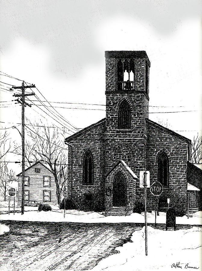St. Johns Church Drawing