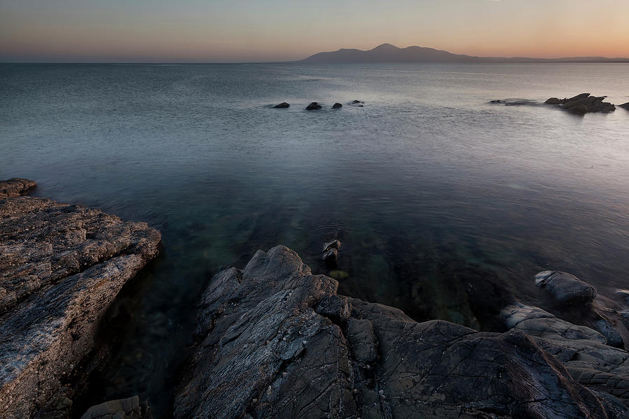 County Down Photograph - St Johns Point ,blue Water  by Glen Sumner
