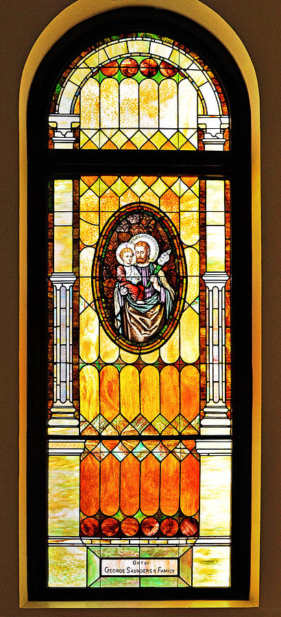 St Joseph Immaculate Conception San Diego by Christine Till