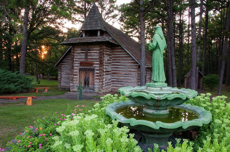 Missouri Photograph - St. Jude Chapel by Steve Stuller