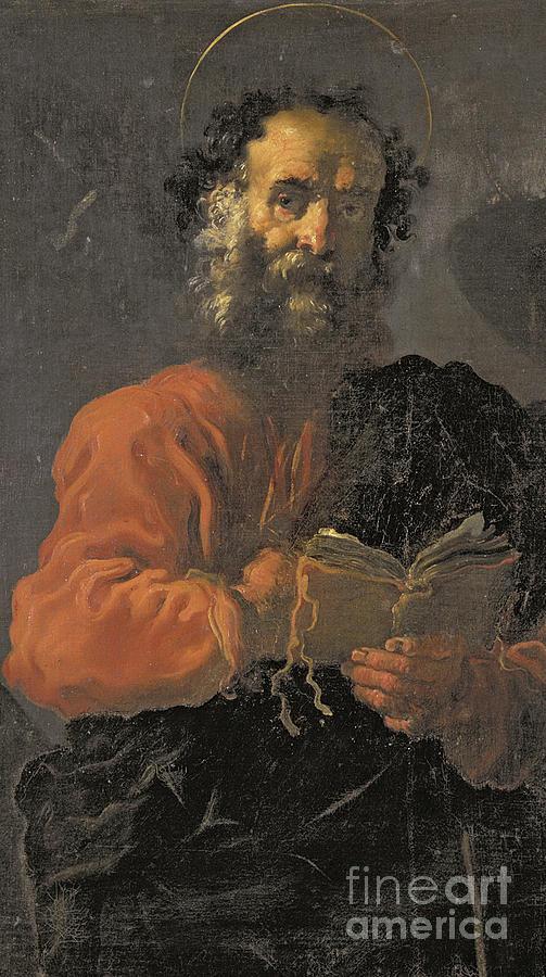 Saint Jude Thaddeus Painting - St Jude Thaddeus by Domenico Fetti or Feti