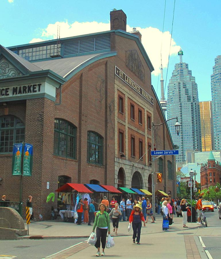 Market Photograph - St Lawrence Market by Ian  MacDonald