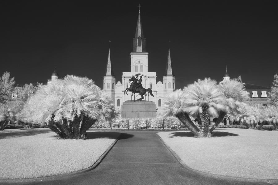 St Louis Cathedral Photograph - St. Louis 2 by John Gusky