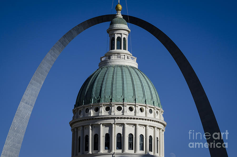 Arch Photograph - St. Louis Arch by Andrea Silies