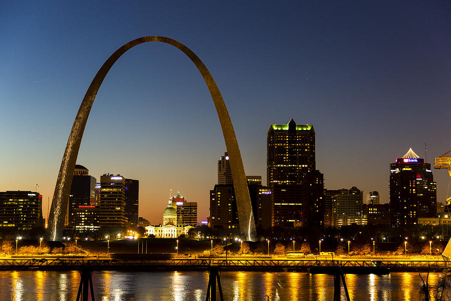 St. Louis Arch by James Menzies