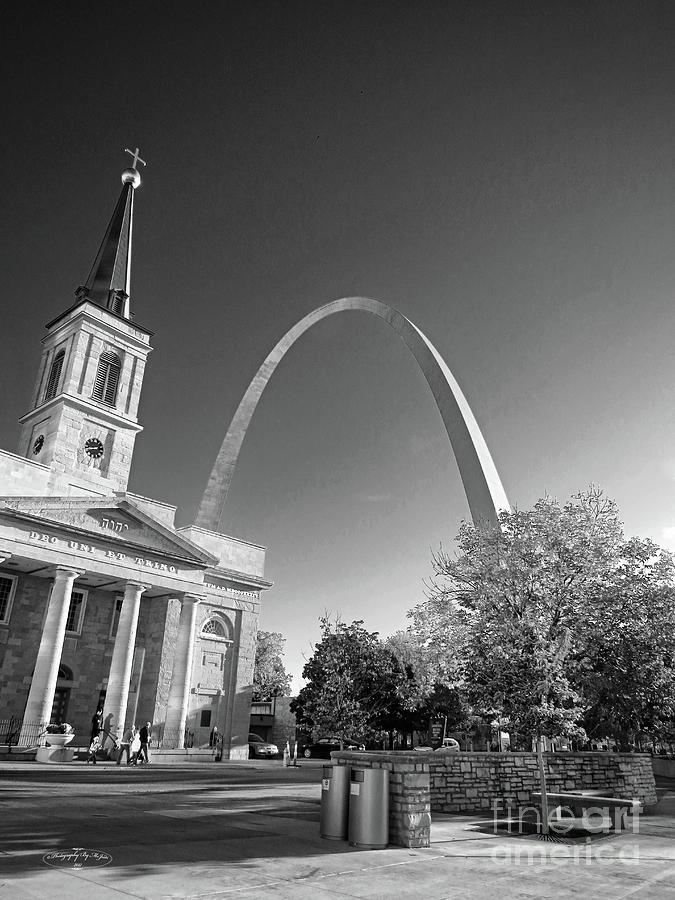 St. Louis Arch by Ms Judi