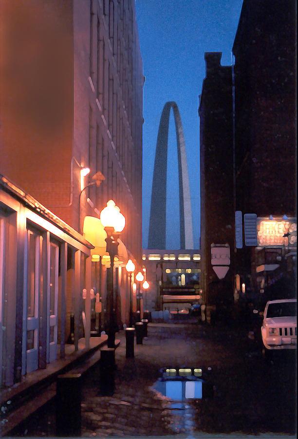St. Louis Photograph - St. Louis Arch by Steve Karol