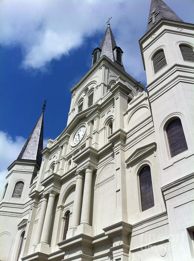 Nola Photograph - St. Louis Cathedral In The Afternoon by John Giardina