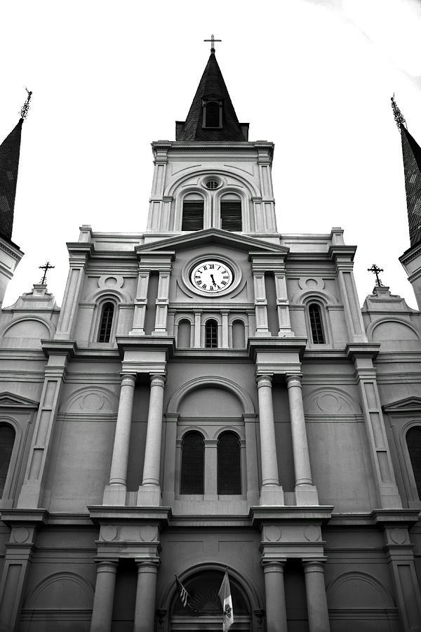 st louis cathedral new orleans photograph by pat williams