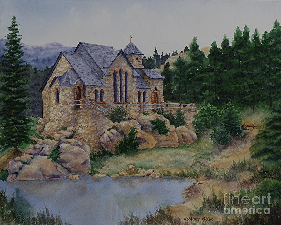 Colorado Painting - St. Malos Retreat by Kathleen Keller