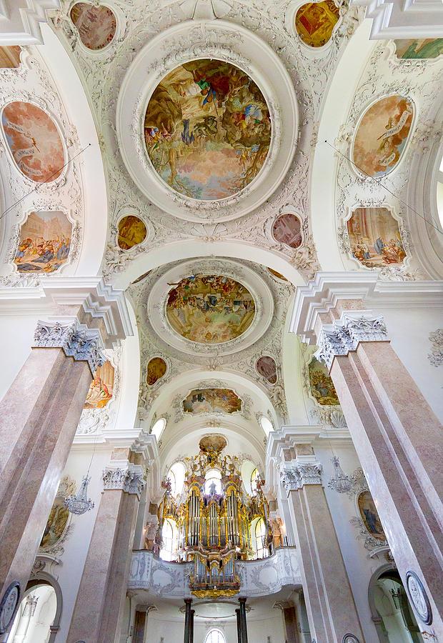 St Mang organ in Fussen by Jenny Setchell