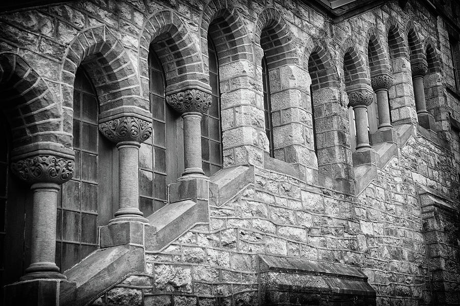 Jim Thorpe Photograph - St. Marks Episcopal Church by Frank Morales Jr