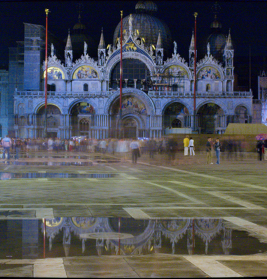 Venice Photograph - St. Marks by Michael Henderson